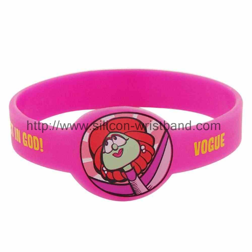 silicone wristband custom