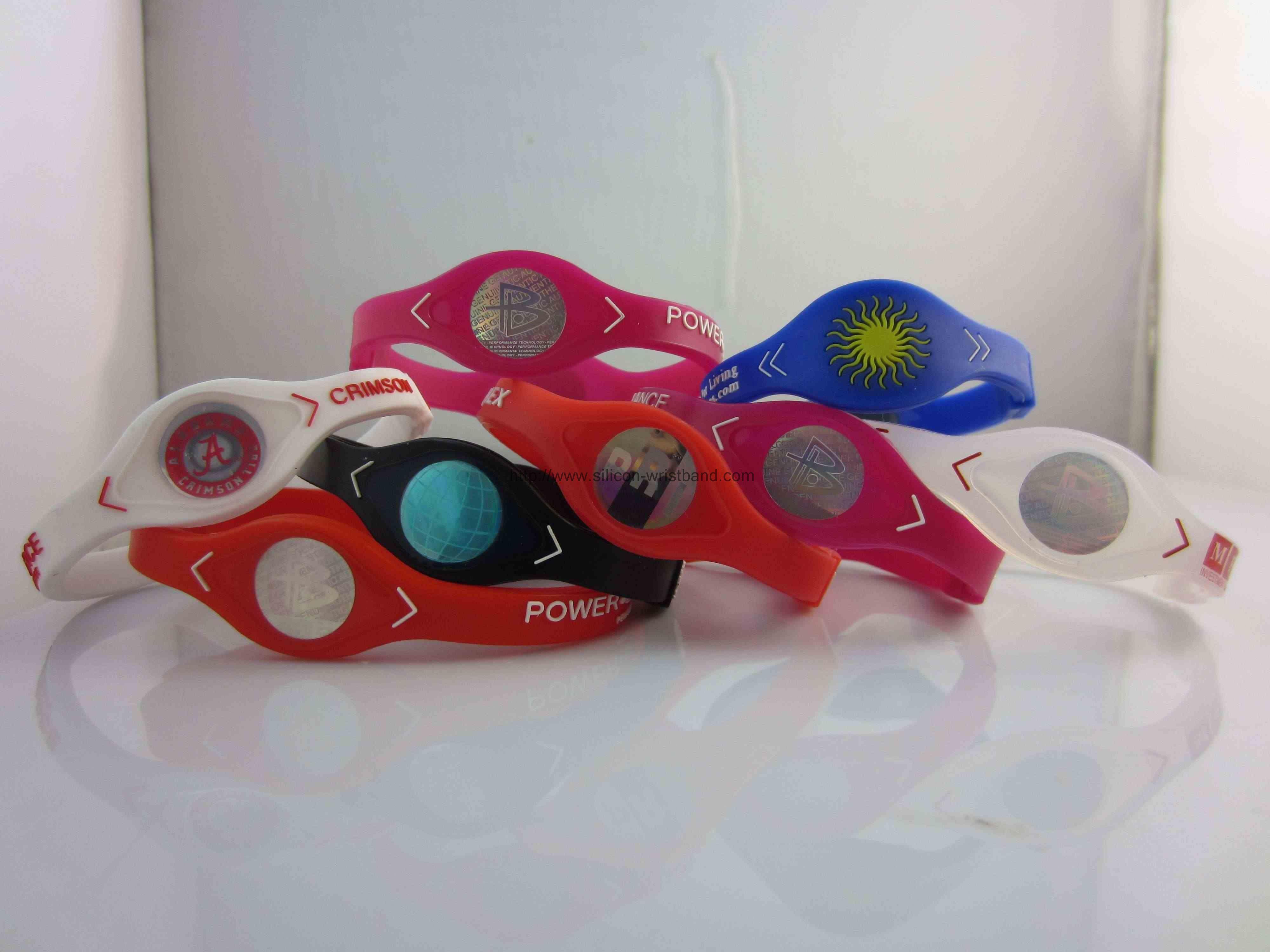 multi colored wristbands