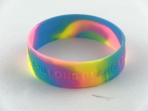 rubber cause bracelets