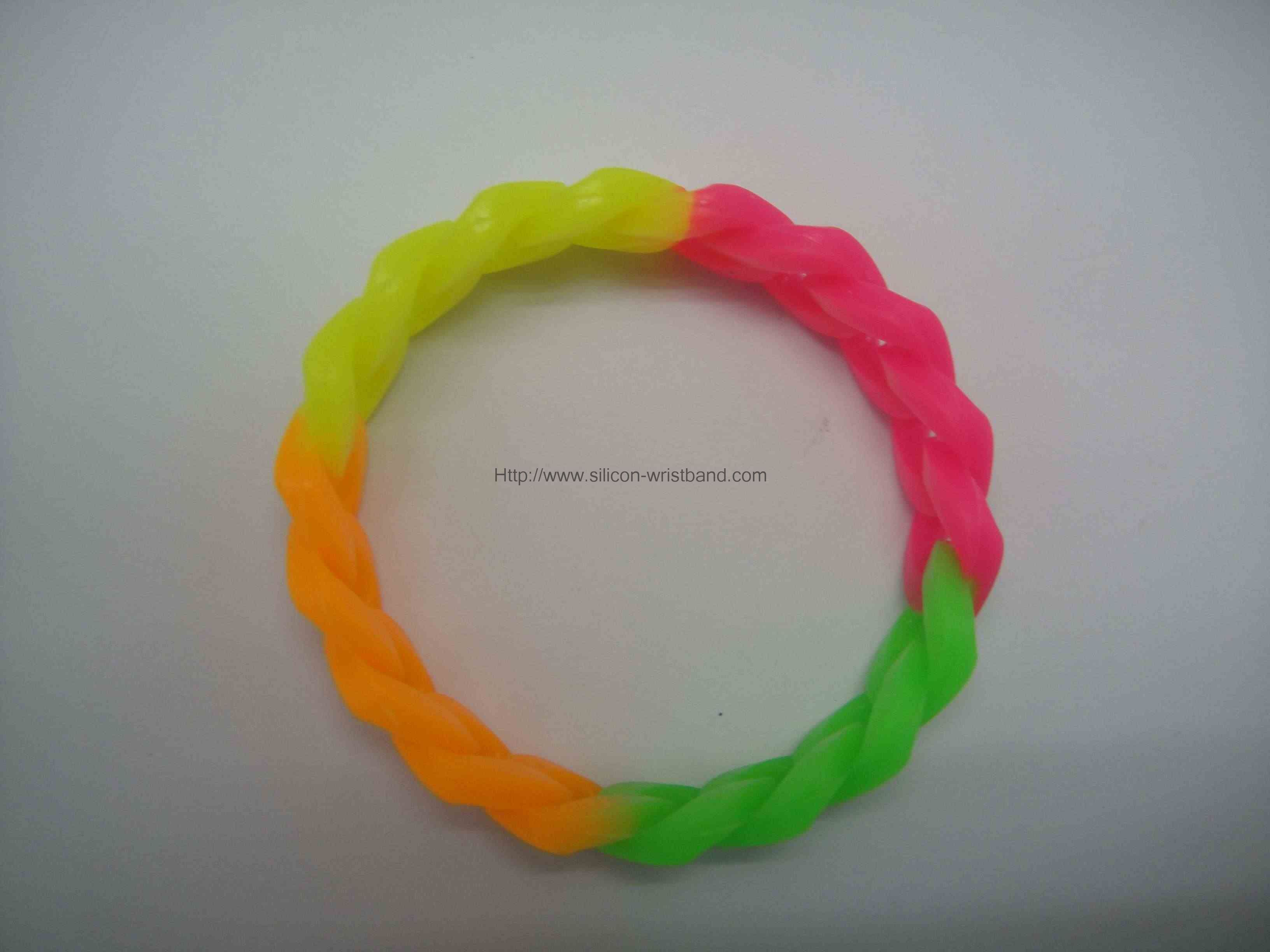 popular rubber bracelets