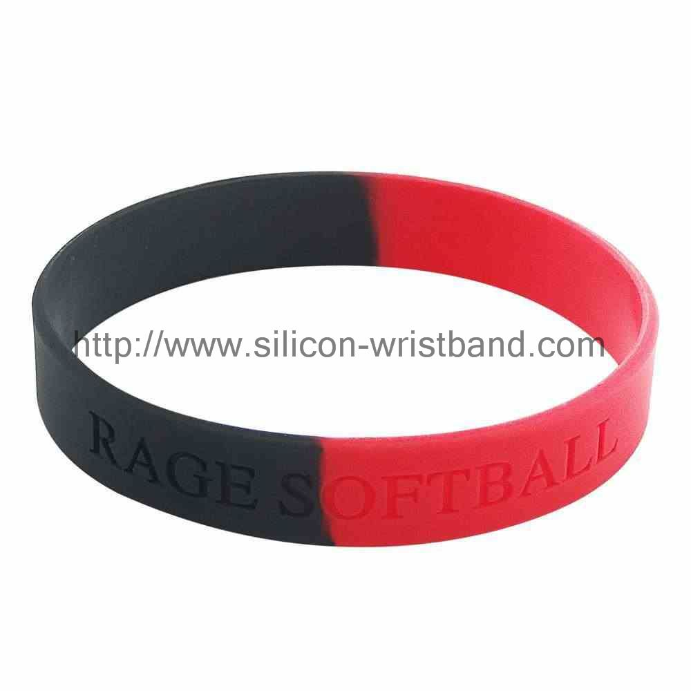 Promotional with silicone wrist with which commonly used color?