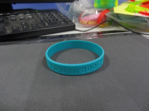 silicone wristbands low minimum
