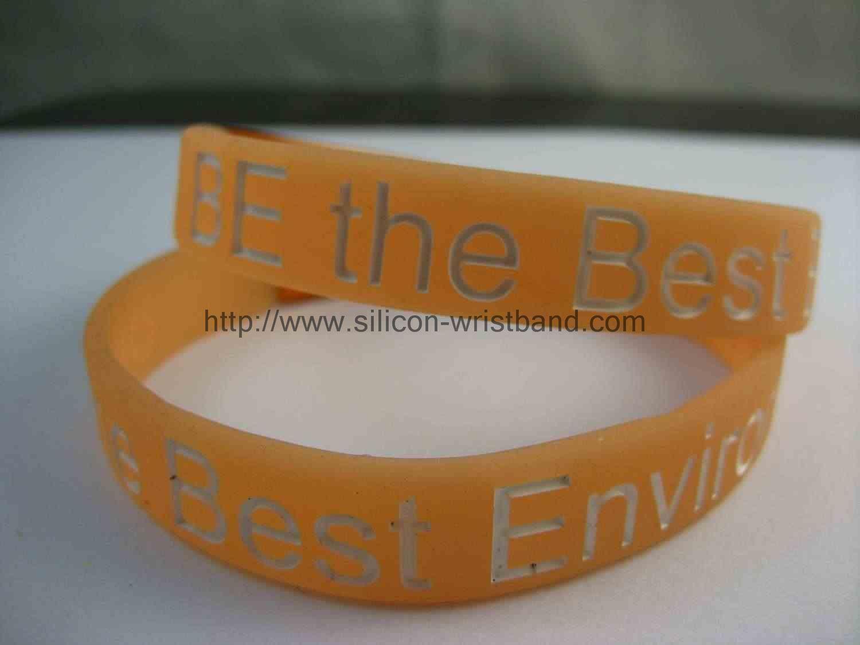 green wrist band