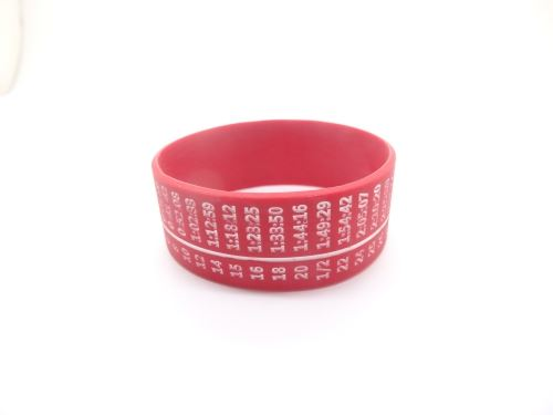 Why are silicone bracelets popular in the UK?