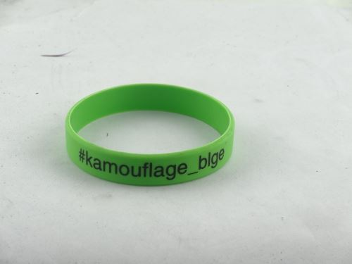 Silicone bracelet can be found in the wholesale factory
