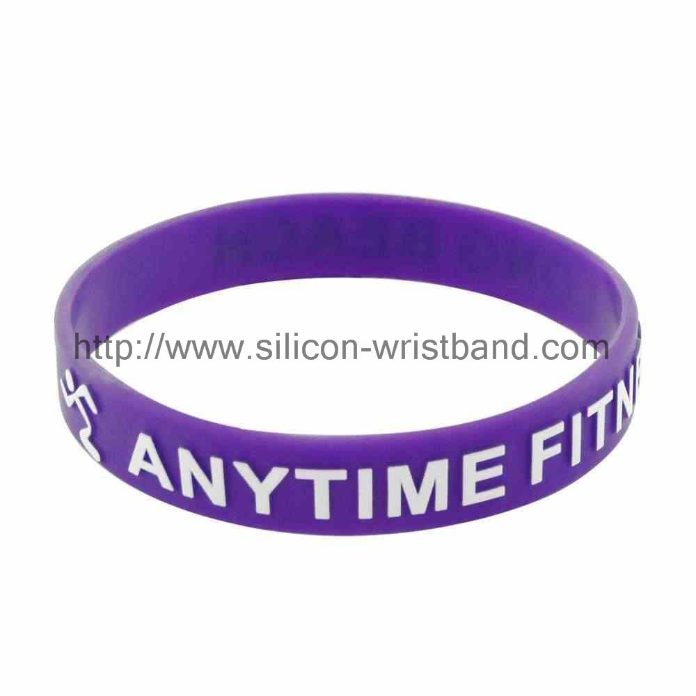 How much are debossed silicone wristbands?