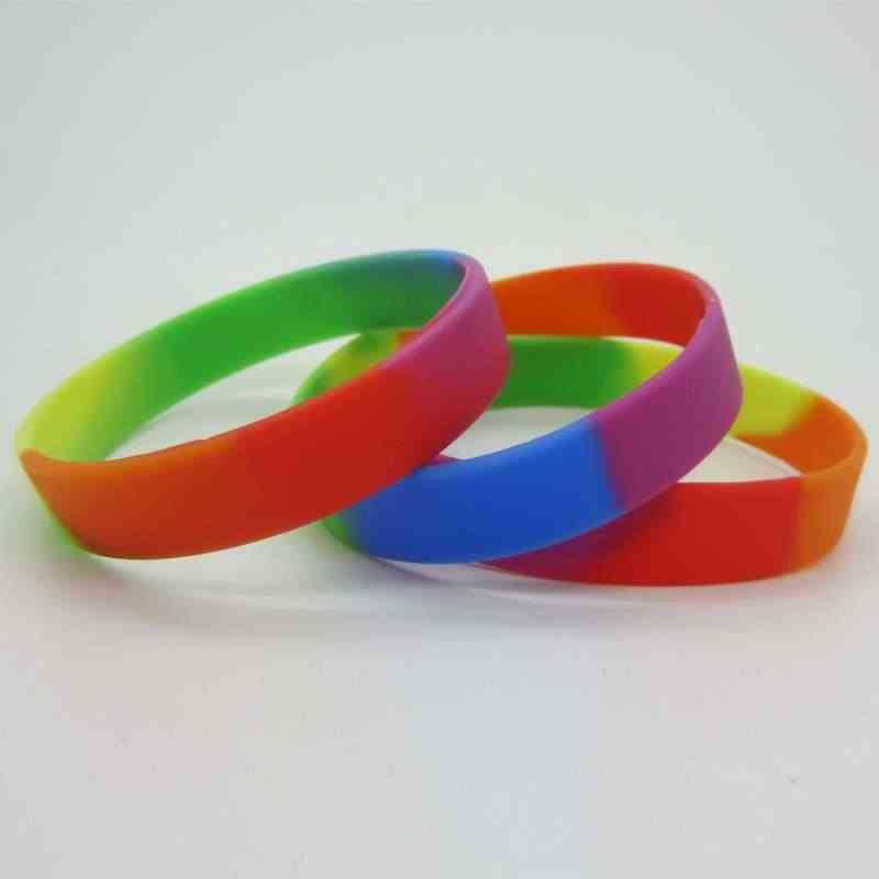 How to make embossed silicone bracelets?