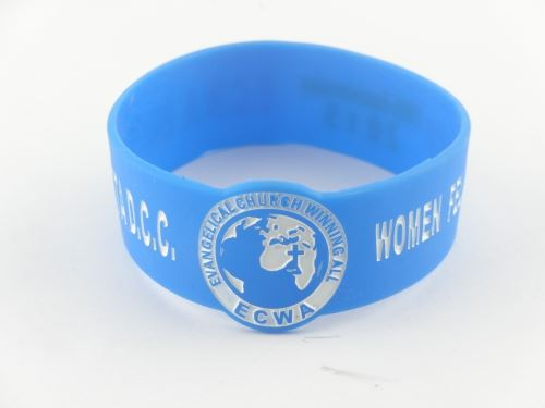 Promotion with silicone bracelet can buy it on the Internet