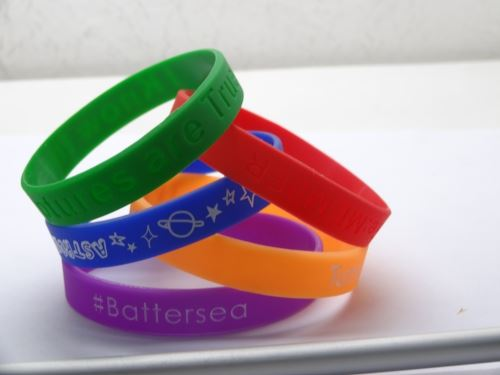 festival style wristbands