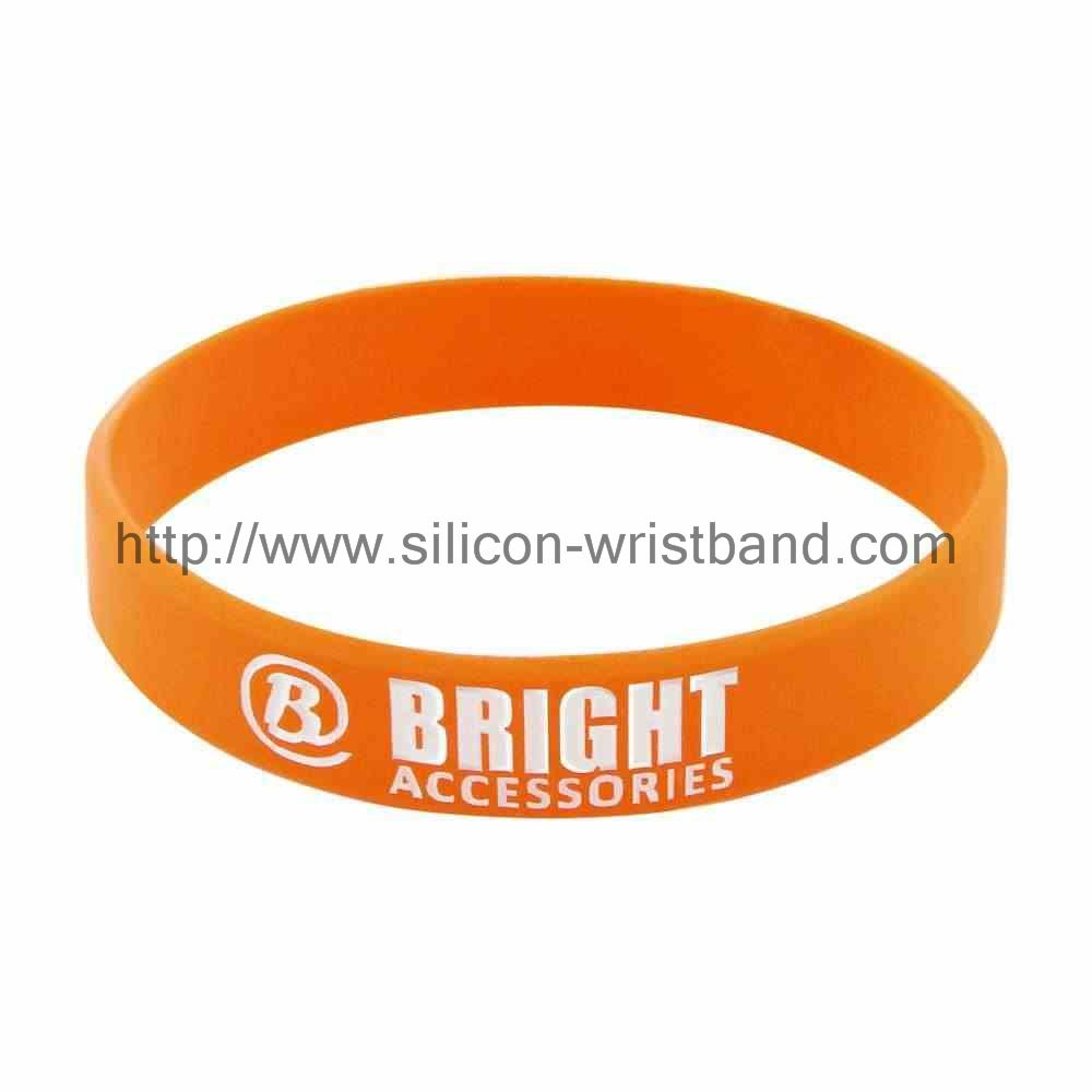 How to make debossed silicone bracelets?