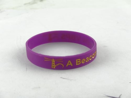 Silicone bracelet is the size of the general