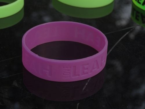 Cancer silicone bracelet how much money