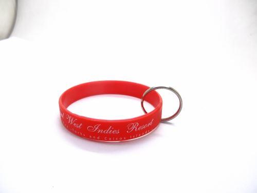 How to custom embossed rubber bracelets?
