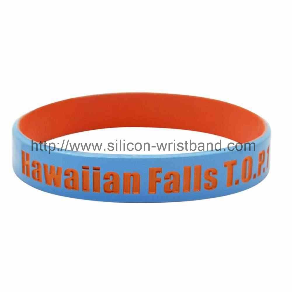 wide rubber bracelets