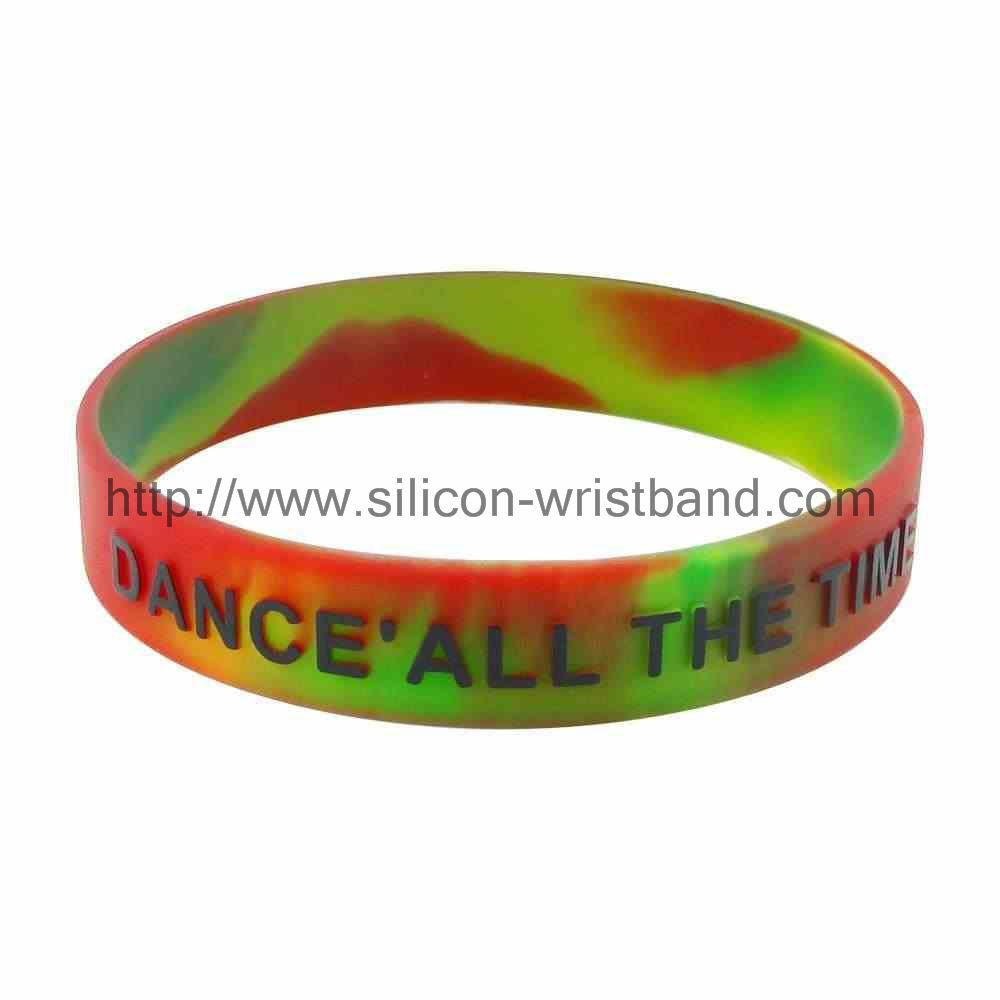 Where to buy embossed silicone wristbands?