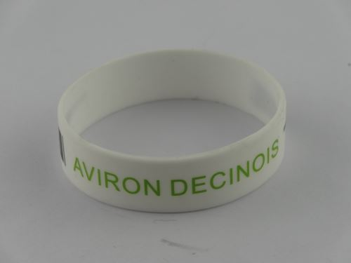 personalized rubber braclets