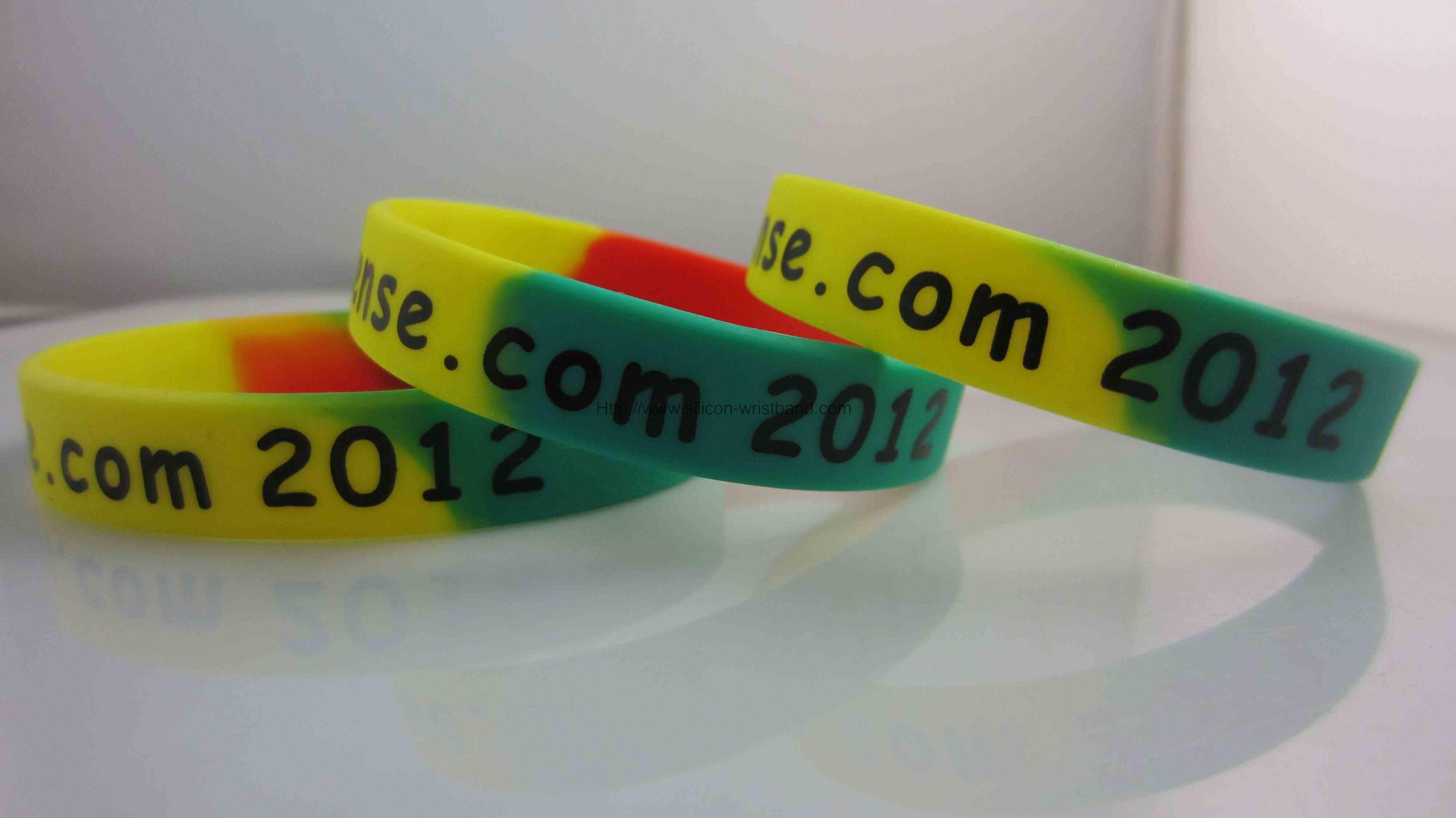 plastic rubber bracelets