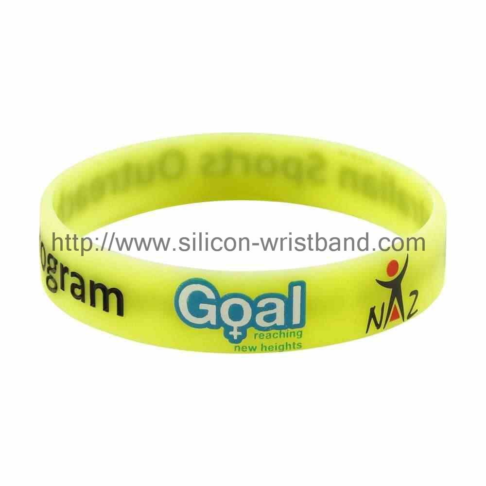 Where to buy debossed rubber wristbands?