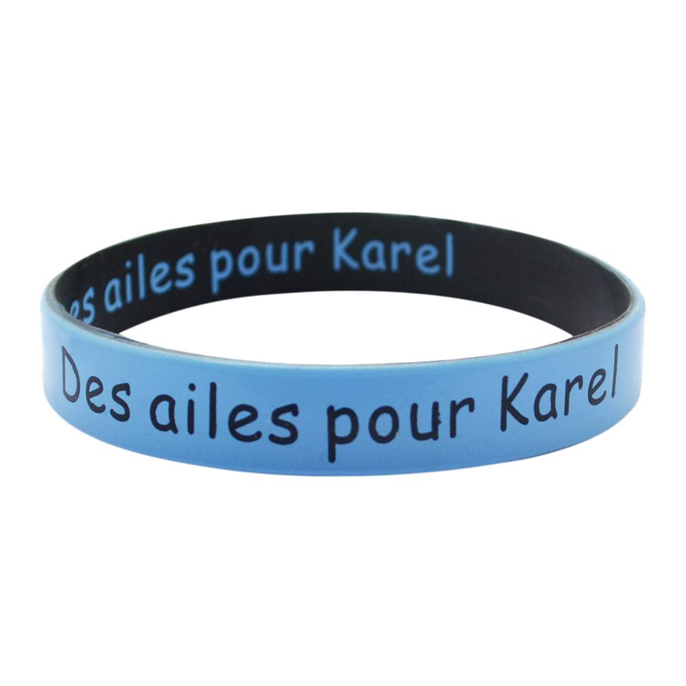 dual silicone bracelet