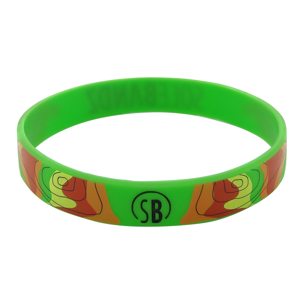 printing silicone wristband