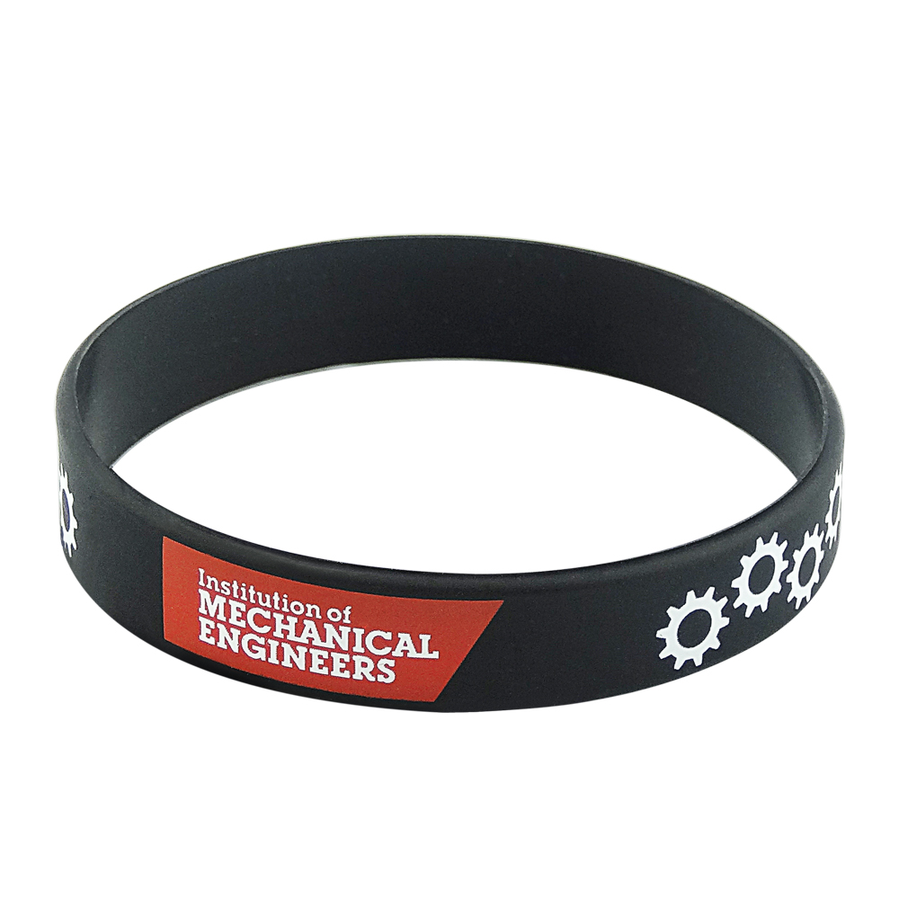 silicone wristband with printing