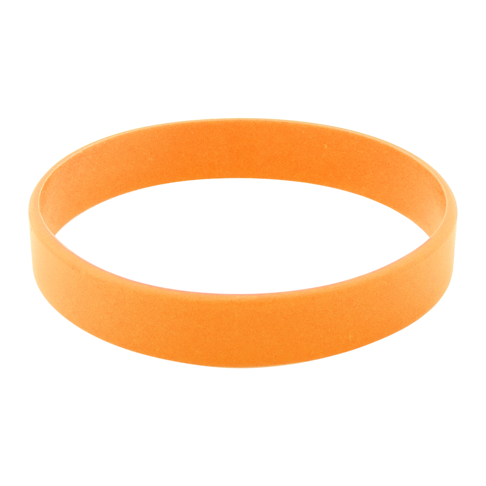 blank silicone wristband